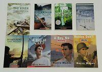 LOT 5 Gary Paulsen COMPLETE HATCHET SAGA THE RIVER WINTER BRIAN'S RETURN HUNT +3