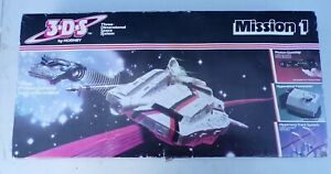 HORNBY  3.D.S MISSION 1 GUNSHIP -3 DIMENSIONAL SPACE SYSTEM VINTAGE BOXED UNUSED