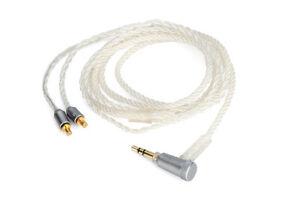 8-core braid Audio Cable For audio technica ATH-LS70 LS50 iS ATH-E40 E50 E70