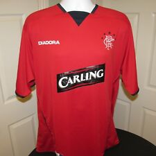 2004/05 Glasgow Rangers Away 3rd Football Shirt, Diadora, Excellent condition XL