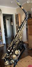 Alt-Saxophon.   Eb. Schwarz Lack