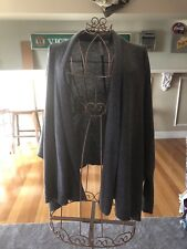 Levis Grey Cardigan Size L Lambswool/polymide