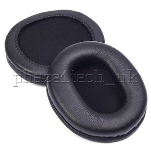 PU Leather Headphone Ear Pads approx. 80mm x 100mm - Sony AKG Pansonic & more...