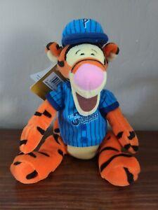 NWT The Disney Store Baseball Tigger Bee Stompers Bean Bag Plush Winnie The Pooh