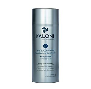Kaloni Hair Building Fiber Spray Concealer for Men and Women (Dark Brown)