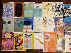 New LOT/20 CARD LOT Graduation American Greetings Bulk Wholesale