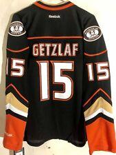 Reebok Women's Premier NHL Jersey Anaheim Ducks Ryan Getzlaf Black Alt sz M