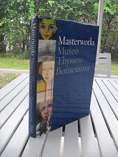 MASTERWORKS. MUSEO THYSSEN-BORNEMISZA BY TOMAS LLORENS 2000 ISBN  8488474598