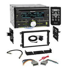 Pioneer Bluetooth Sirius Stereo 2Din Dash Kit Harness for 92+ Chevy GMC Pontiac