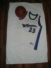 Champion NBA Trikot Michael Jeffrey Jordan 23,GrXL,Washington Wizards,white/blue