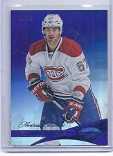 12-13 2012-13 CERTIFIED MAX PACIORETTY MIRROR BLUE /99 67 MONTREAL CANADIENS