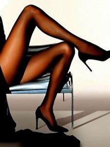 Tamara Pantyhose A B C D X-Tall Hooters Uniform Sexy Legs Dress Hosiery nylons