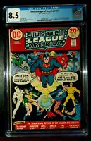 1973 JUSTICE LEAGUE OF AMERICA #107 DC Comics CGC 8.5 VERY FINE+*