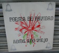 "FERNANDO RAMIREZ OLACE POEMA DE NAVIDAD MEXICAN 7"" SINGLE PS POETRY/CHRISTMAS"