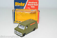 DINKY TOYS 410 BEDFORD AA VAN LONDON TRANSPORT MINT BOXED RARE SELTEN JOHN GAY