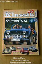 Motor Klassik 10/99 VW Golf GTI Triumph TR 3 Lancia