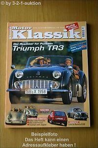 Motor Classic 10/99 VW Golf Gti Triumph Tr 3 Lancia