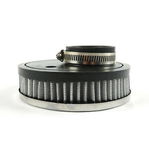 Weber ICT ICH Solex carb VW chrome pancake air cleaner filter 52mm fitting