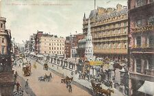 London, The Strand an Charing Cross Station Vintage Cars Auto, Exchange 1906