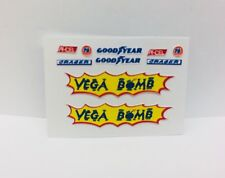 Hot Wheels Redline (VEGA BOMB...DECAL SET)  AWESOME
