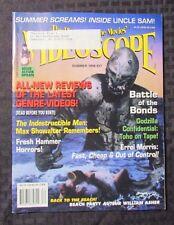 1998  VIDEOSCOPE Movie Video Magazine #27 VF Godzilla James Bond 007