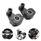 2PC Motorcycle HandleBar Handle Fat Bar Mount Clamps Riser Universal 7/8'' 22mm