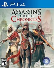 ASSASINS CREED CHRONICLES PS4 NEW! INDIA, CHINA, RUSSIA, 3 ACTION JOURNEYS *