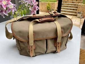 Billingham 445 Camera Bag in Khaki with Tan Trim - RRP £295