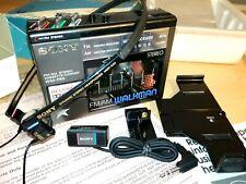 Sony Wm F65 walkman stereo fm am cassette recorder headphones Md A20 repair