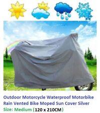 Outdoor Motorcycle Waterproof Motorbike Rain Vented Bike Moped Sun Cover _Medium