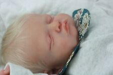 Reborn Baby Rosalie By Olga Auer Beautifully Sculpted with Hair & COA