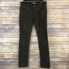Tag Womens Jeans Cotton Stretch Slim Straight Leg 5 Pocket Tonal Stitch Size 28