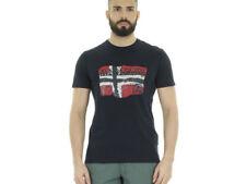 Magliette da uomo Napapijri con girocollo taglia L