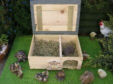 More details for  hedgehog house box wooden feeding and hibernation.( price reduced see listing)