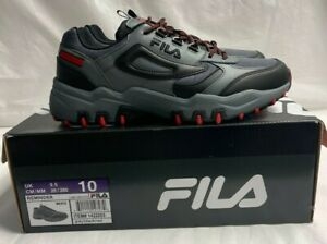 Fila Men's Reminder Athletic Running Hiking Shoes Grey