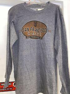 San Francisco Giants super soft licensed Men's long sleeve t-shirt NWT size Med