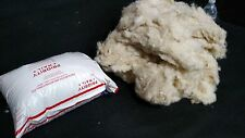 1 LB. 100% NATURAL FIBER WOOL WASHED STUFFING SPINNING LANOLIN SOFT SHEEP