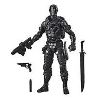 Hasbro G.I. Joe Classified Series Snake Eyes Action Figure Collectible Premium T