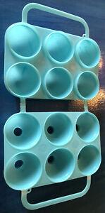 JELL-O JIGGLER EGG MOLD Jello Shots Smooth Blue