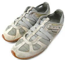 DIESEL MOSLETTE Womens Walking SHOES US Size 8.5 EUR 39 Gray Leather
