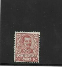REGNO 1901 floreale 10 cent nuovo mnh