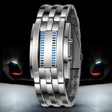 Luxury Lady Digital ALLOY BandWatch Sport Watch Time-Machine Quartz WristWatch