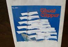 """Squadron Kites """"GHOST CLIPPER"""" Kit #301, Big 4ft. Wingspan-New In (unopened) Box"""