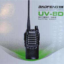 BF-UV8D BAOFENG Walkie Talkies UHF Two Way Radio 8W Dual PTT FM Transceiver