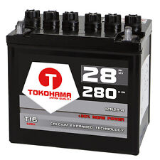 Rasentraktor Batterie Aufsitzmäher 28Ah 12V +Pol Links statt 24Ah 26Ah 12N24-4