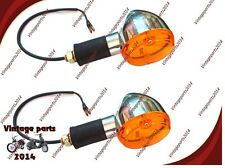 LED ROYAL ENFIELD ORANGE LENS FACE INDICATOR NEW & PACKED