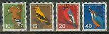 BRD Briefmarken 1963 Vögel Mi.Nr.401-404**postfrisch