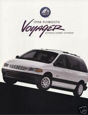 1998 Plymo 00006000 uth Grand Voyager Van Sales Catalog Brochure