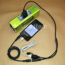 Stereo 3.5MM AUX IN Input to 30 Pin Dock Female Cord for IPHONE 5 IPAD 2 3 Mini