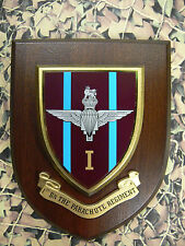 Regimental Plaque / Shield - 1st Battalion Parachute Regiment 1 PARA